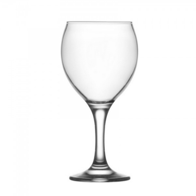 Set 24 Pahare Sticla cu picior 365ml Vin MISKET 560