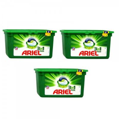 Set 3x 39 Capsule Detergent Ariel Pods 3in1, 117 Spalari 3DC16182