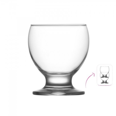 Set 48 Pahare Sticla cu picior suc 210ml Nectar Teo 347