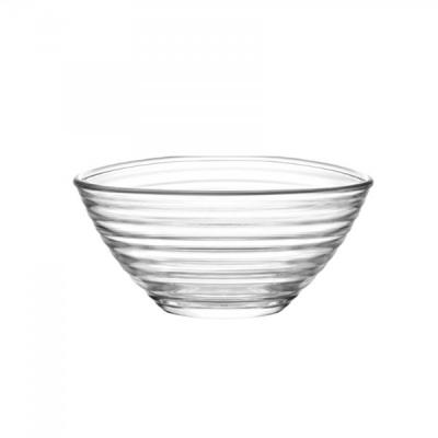 Set 6 boluri sticla pentru desert sau salata 200ml Derin 238