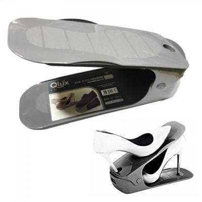 Set 6 Suport Organizator Pereche Pantofi Reglabil 26x10x13cm Gri