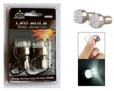 Set becuri auto led bulb cu 12led filament dublu pentru stopuri sau frana