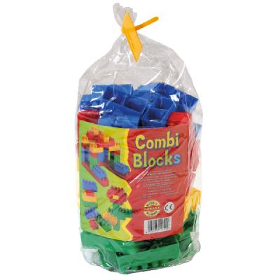 Set 100 Cuburi Constructie pentru Copii Dohany