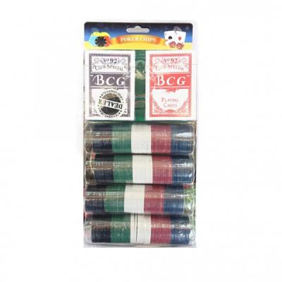 Set de poker 200 Chipuri marcate valoric Blister