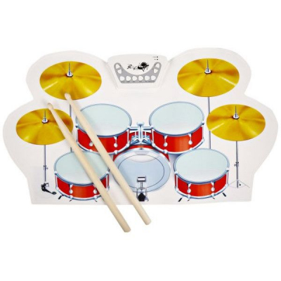 Set Pliabil 9 Tobe Electronice Portabile din Silicon Roll-up Drum