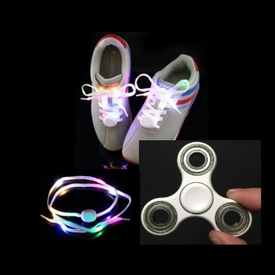 Set Sireturi Luminoase cu LED si Spinner Antistres