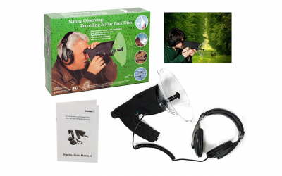 Sistem de ascultare inregistrare la 100m nature observer