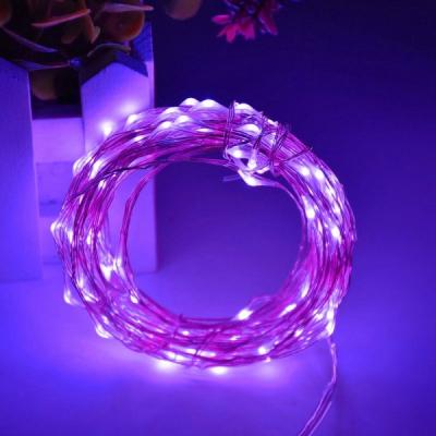Snur Luminos 100 Micro LED Mov 10m Fir Silver 12V IP20