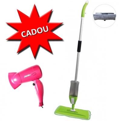 Spray Mop 2in1 GR468 cu Cadou Uscator de Par Pliabil 700W