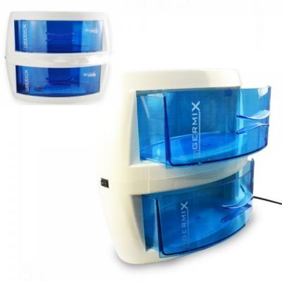 Sterilizator UV 10W Saloane Cosmetica si Tatuaje Germix Dublu 9001A