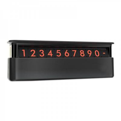 Suport Auto Numar Telefon Retractabil Fosforescent Odorizant HMPS00301