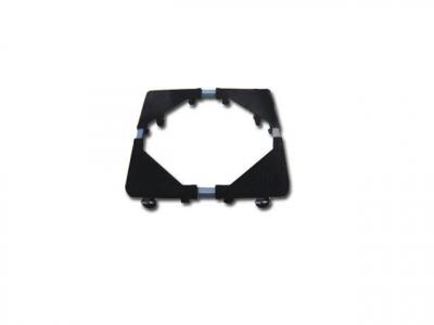 Suport Metalic Ajustabil cu Roti Pentru Electrocasnice 56x56cm
