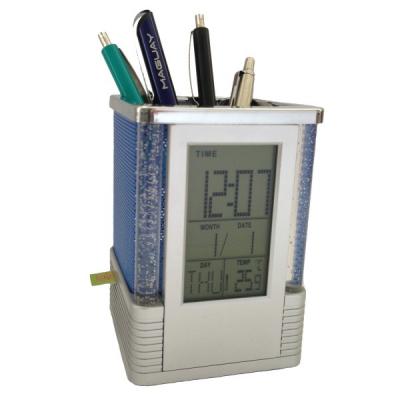 Suport Pixuri Birou cu Microfon GSM si Activare Vocala Pen Holder