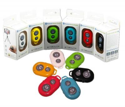 Telecomanda Bluetooth Remote Shutter pentru Selfie Camera Telefon