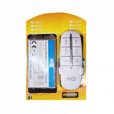 Telecomanda Wireless Universala pentru Lustra 4 canale si Timer HQ