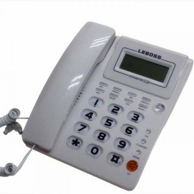 Telefon Fix Analogic cu Display si Afisaj Apelant LeBoss L14