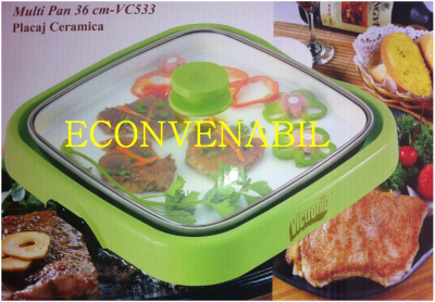 Tigaie electrica ceramica Hot Pan Victronic VC533