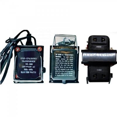 Transformator 220V 110V Convertor Tensiune cu Buton si Cablu 220V 1000W