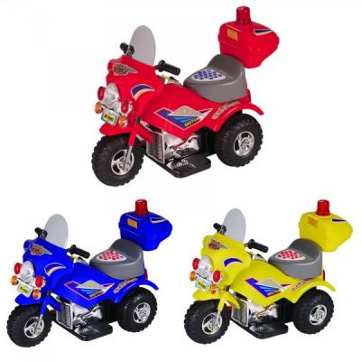 Tricicleta Electrica 6V4Ah pentru Copii  Div. Culori JK9886