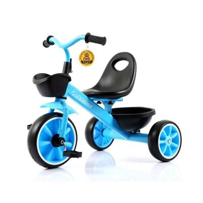 Tricicleta pentru Copii Max. 3 Ani 15Kg Jolly Kids DS902 Albastra