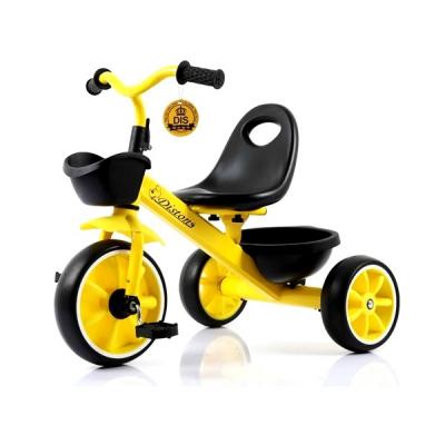 Tricicleta pentru Copii Max. 3 Ani 15Kg Jolly Kids DS902 Galbena