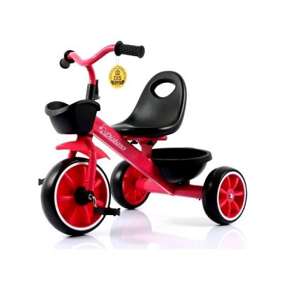 Tricicleta pentru Copii Max. 3 Ani 15Kg Jolly Kids DS902 Rosu JU