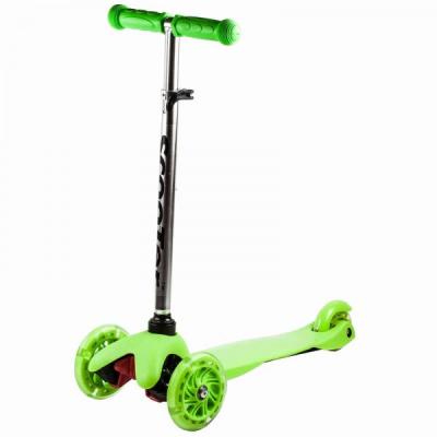 Trotineta Copii cu Roti din Silicon Scooter Verde