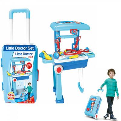 Trusa doctor de jucarie Pliabila tip Troller Little Doctor 008925A