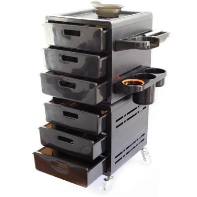 Ucenic Coafor Profesional cu Roti, Accesorii si 6 Sertare UM5