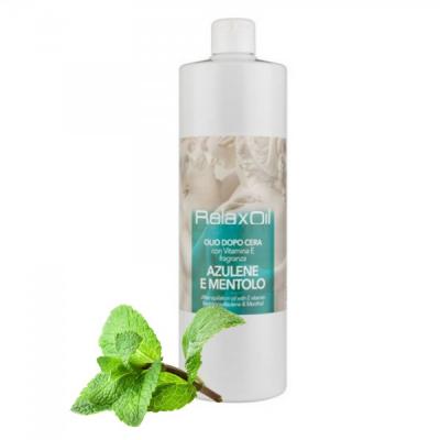 Ulei dupa Epilare cu extract de Azulene si Mentol 1000ml Relax ODAM1