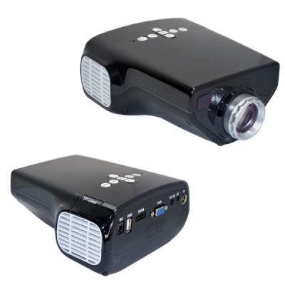 Videoproiector LED USB HDMI VGA E03 16W cu Telecomanda