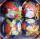 Set 8 Globuri Colorate cu Imagini de Craciun