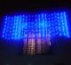 Instalatii de Craciun Exterior Digitale Perdea cu 1120 LEDuri Albastre 6x3m